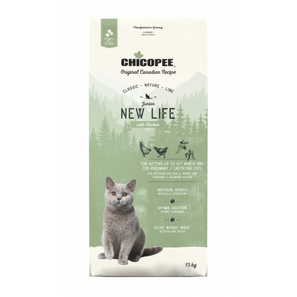 Chicopee Cat JUNIOR New Life Chicken